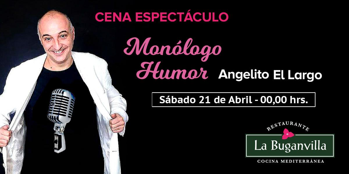Monólogo Angelito el largo