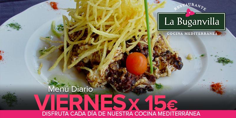 VIERNES MENU DIARIO X 15€