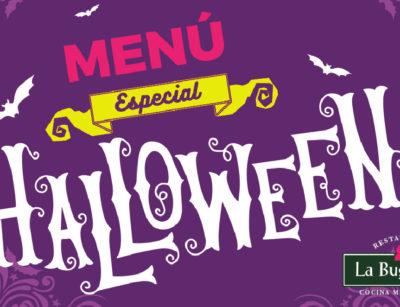 menu halloween 2018